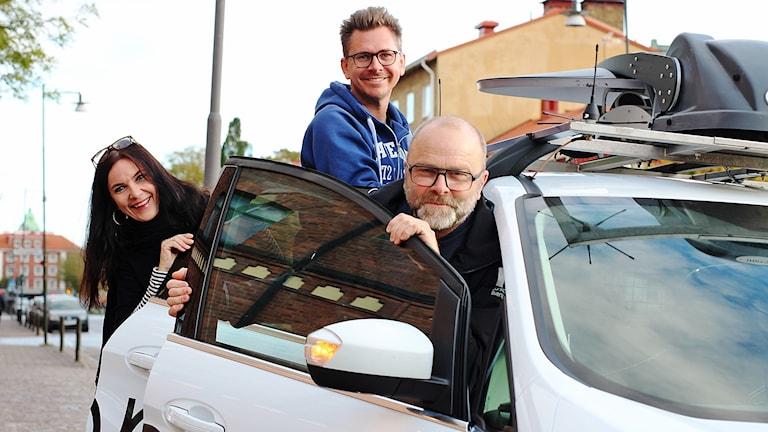 Mirre Juneström, Dan Segerson och Håkan Eng.