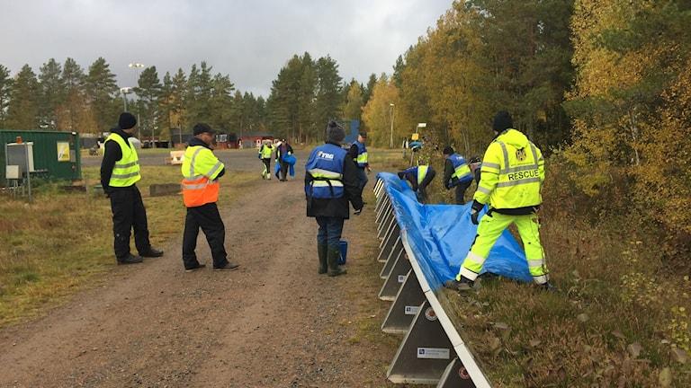 Krisövning med myndigheter och frivilliga