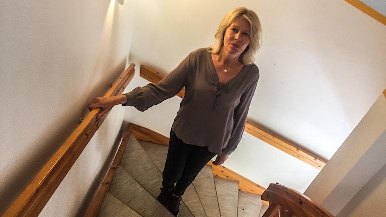 Eva Nestor, alkohol- och drogbehandlare.