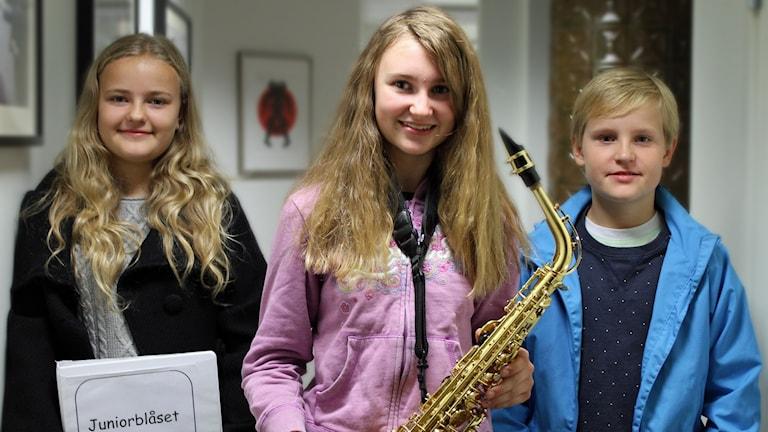 Emilia, Selma och Albert, Kulturskolan i Jönköping.