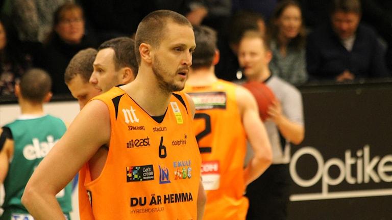 Joakim Kjellbom i Norrköping Dolphins.