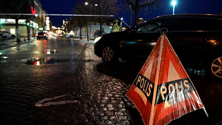 Brottsplats i Nässjö