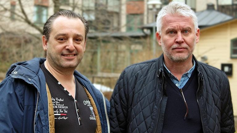 Eric Moreau och Mats Tidstrand.