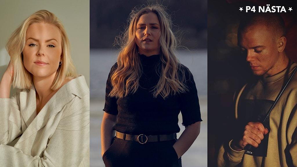 Tre artister