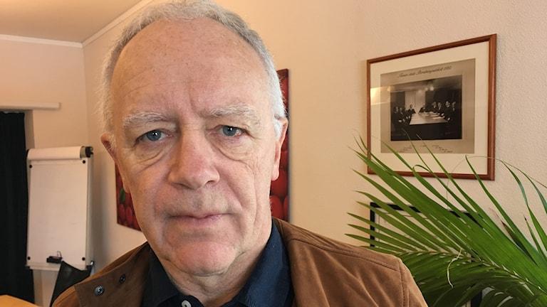 Anders Wilander på sitt kontor i Tranås
