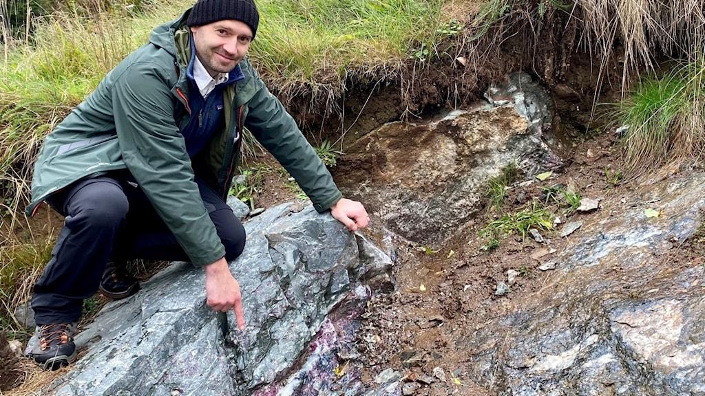Filip Kozlowski VD för Leading edge materials som vill öppna gruva i Gränna