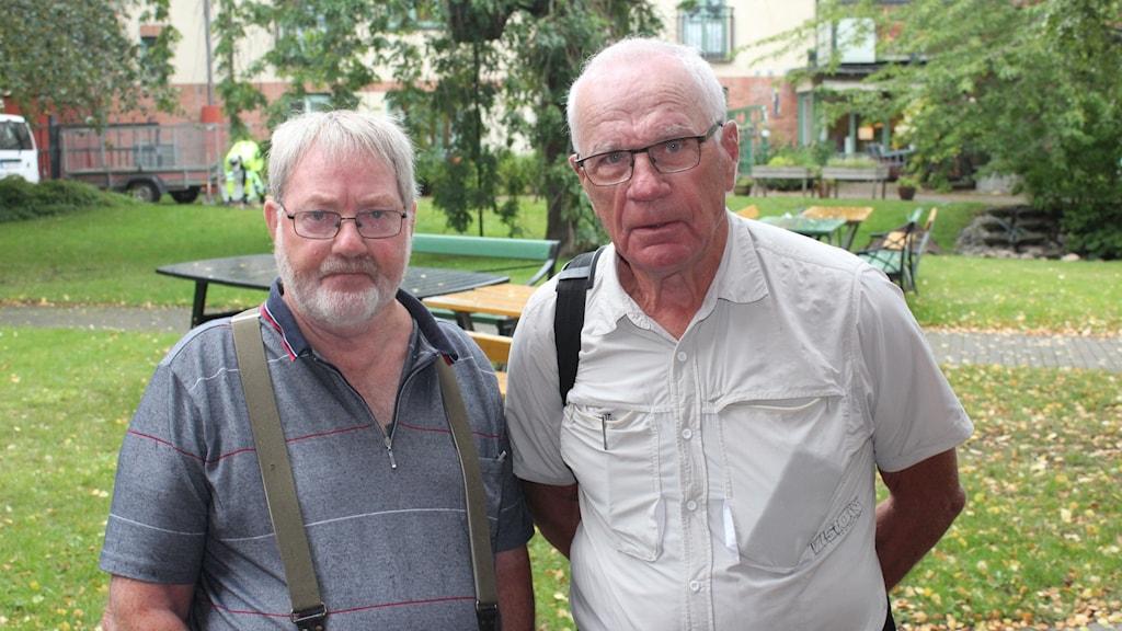 Ingvar Thorsholen och Lennart Grann, Vätterns fritidsfiske och fiskevårdsförbund.