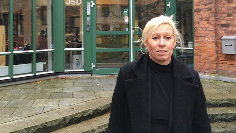 Lotta Johansson är rektor på Rosenlundsskolan i Jönköping