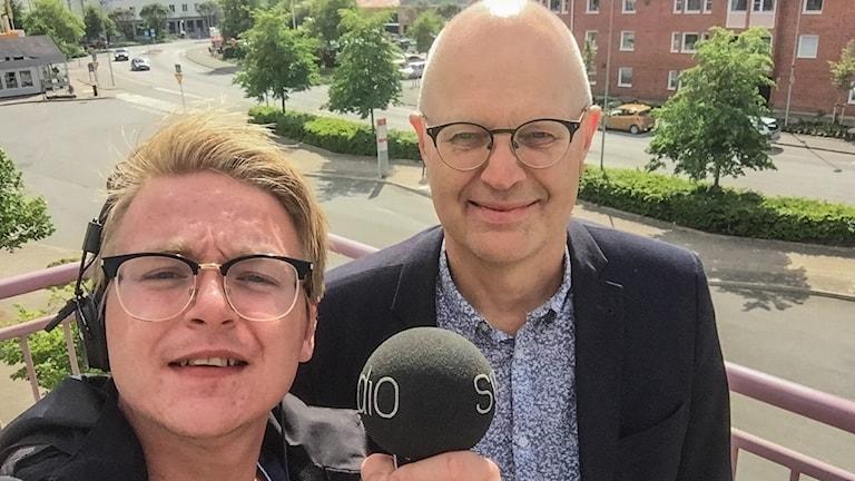 Malte Nordlöf och Stefan Gustafsson.