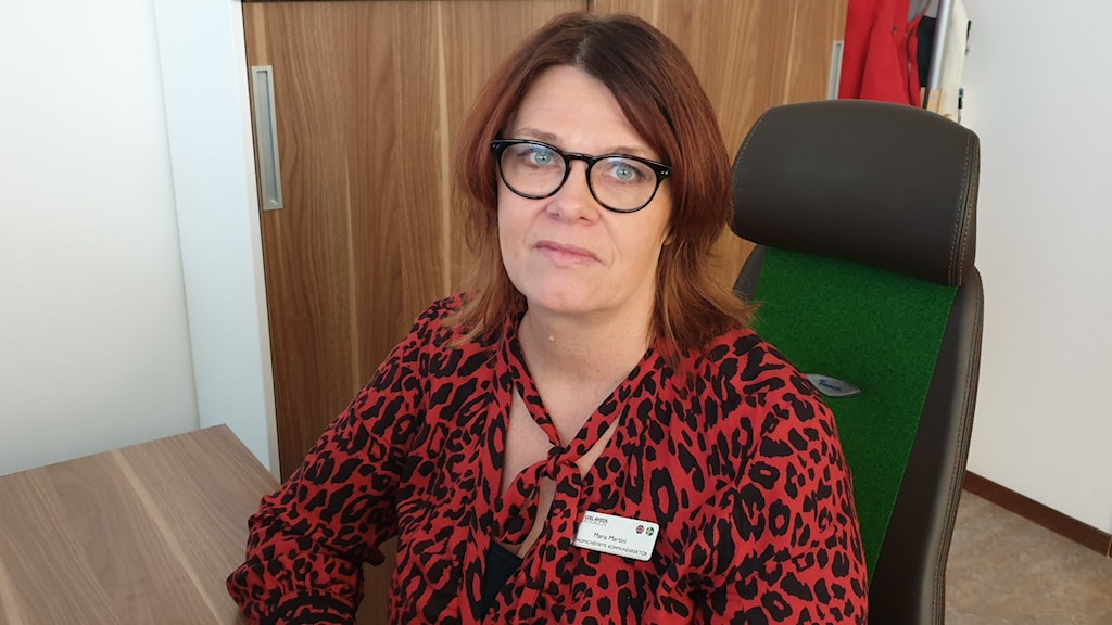 Ekonomichef Maria Martini i Gislaved.
