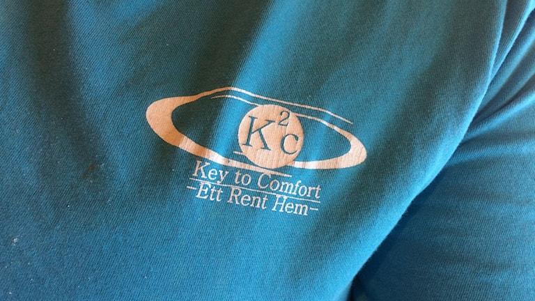 En anställd vid K2 Comfort i Habo