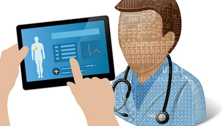 Digital läkare.