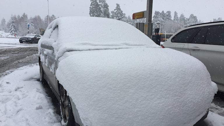 Torsvik snöoväder Vinter