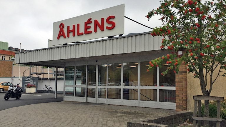 Varuhuset Åhléns i Värnamo.
