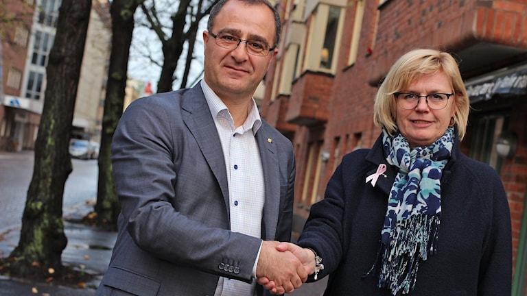 Ilan de Basso och Ann-Marie Nilsson.