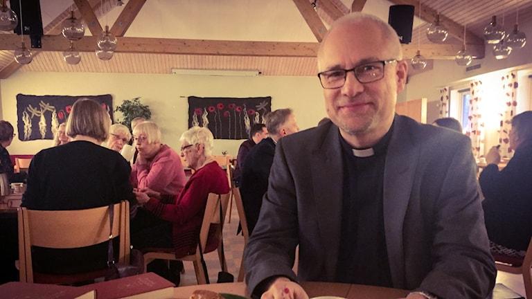 Sven-Evan Svanberg, präst i Svenska kyrkan.