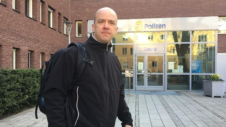 Poliskommisarie Björn Dahlbäck