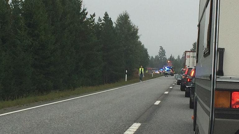 Olyckan riksväg 26 Smålandsstenar