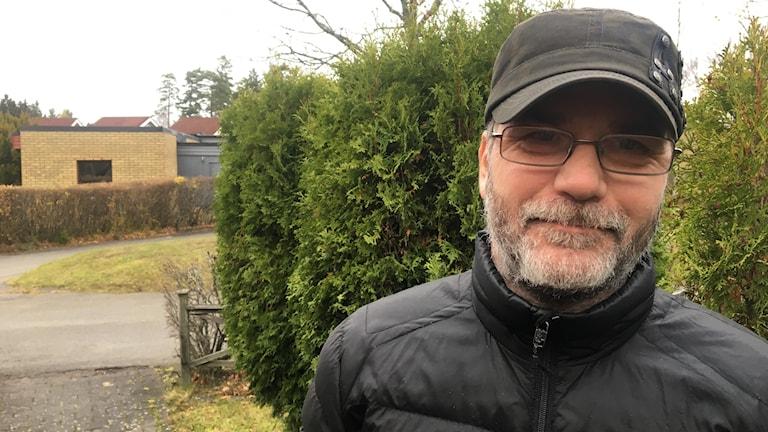 Mats Trägårdh. Foto: Oskar Mattisson/Sveriges Radio.