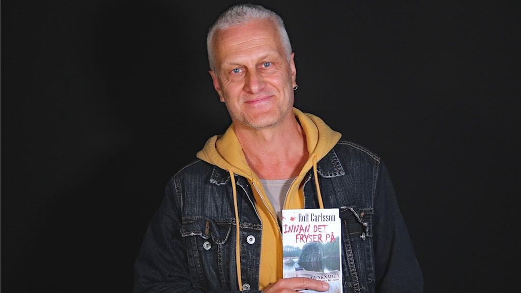 Rolf Carlsson författare. Foto: Örjan Bengtzing/Sveriges Radio.