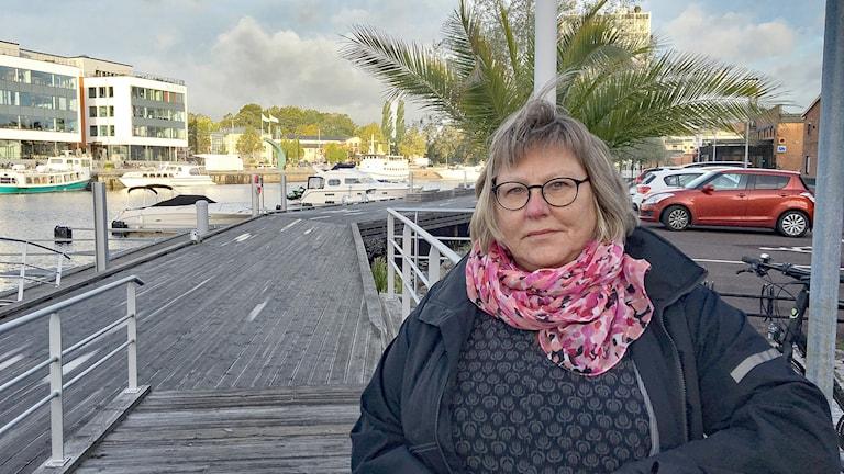 Marianne Fröding. Foto: Gustav Jacobson/Sveriges Radio.