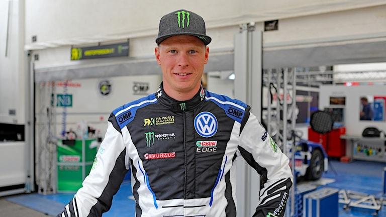 Johan Kristoffersson, rallycrossförare. Foto: Örjan Bengtzing/Sveriges Radio.