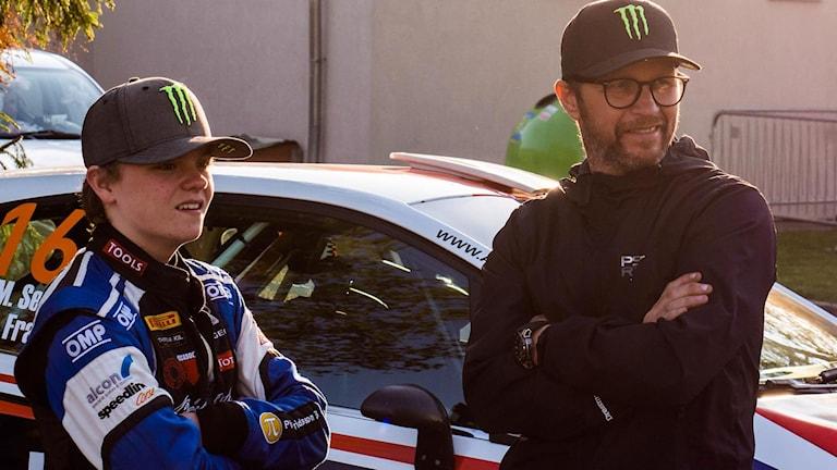 Oliver och Petter Solberg. Foto: Pressbild