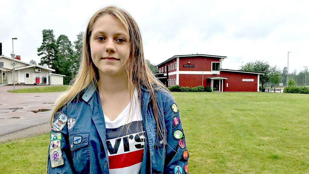 Stina Lundell. Foto: Annika Ström/Sveriges Radio.