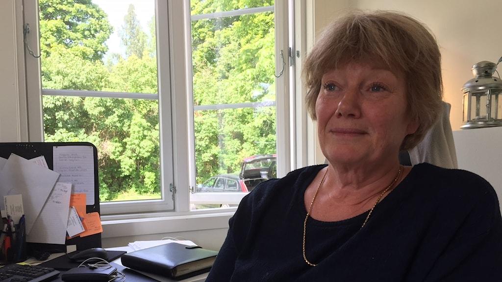 Monika Gustavsson,tillförordnad regionchef på Humana.