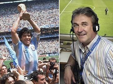 Ralf Edström: Jag var Maradonas stora idol
