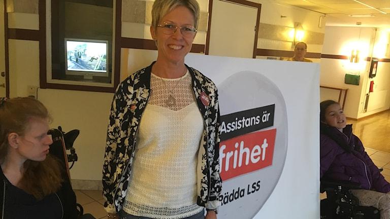 Maria Piscator Mäenpää, ordförande för RBU Värmland.