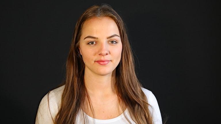 Frida Swahn. Foto: Örjan Bengtzing/Sveriges Radio.