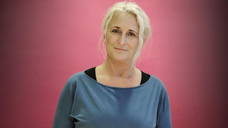 Madeleine Wiker. Foto: Lars-Gunnar Olsson/Sveriges Radio.