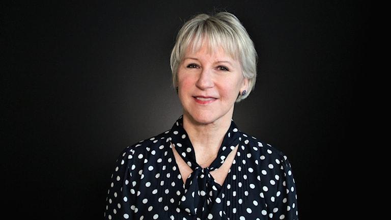 Margot Wallström. Foto: Frida Granström/Sveriges radio