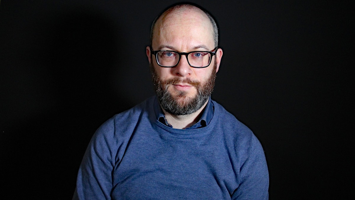Kent Fredholm. Foto: Lars-Gunnar Olsson/Sveriges Radio.