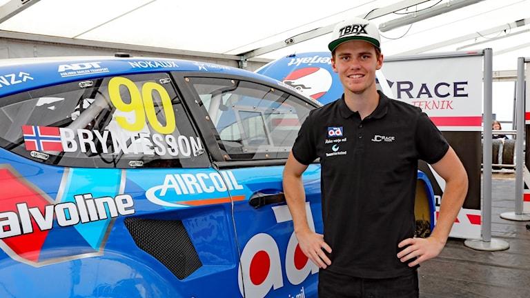 Thomas Bryntesson, rallycrossförare. Foto: Örjan Bengtzing/Sveriges Radio.