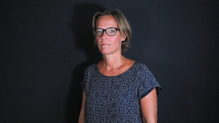 Jessica Granbom. Foto: Erik Liljekvist/Sveriges Radio