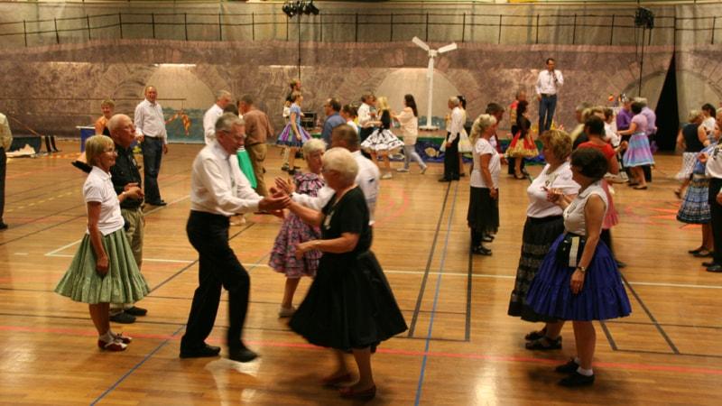 1500 dansar Squaredance på konvent i Karlstad P4 Värmland