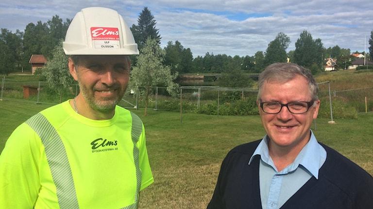 Ulf Olsson Elms bygg och Håkan Laack Torsby bostäder