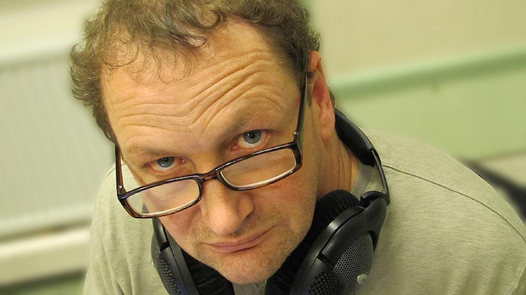 Anders Broman. Foto: Lars-Gunnar Olsson/Sveriges Radio.