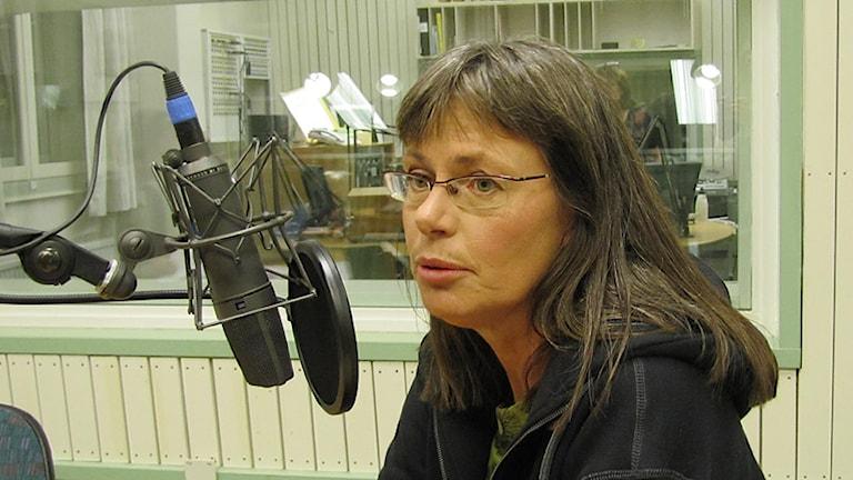 Stina Bergström (MP). Foto: Laila Carlsson/Sveriges Radio