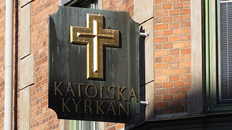 Katolska kyrkan i Karlstad. Foto: Lars-Gunnar Olsson/Sveriges Radio.