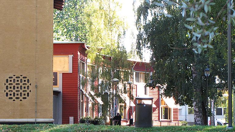 Cyrillushuset och Värmlands Museum. Foto: Lars-Gunnar Olsson/Sveriges Radio.