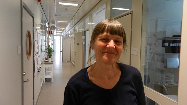 Smittskyddläkare Eva Mogard vid Landstinget i Värmland.