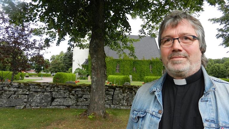 Thomas Pfitsinger Drewes präst i Forshaga pastorat.