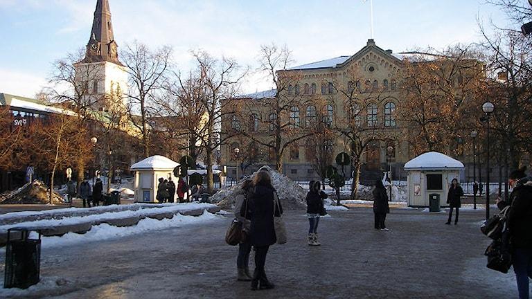 Ishalka i centrala Karlstad