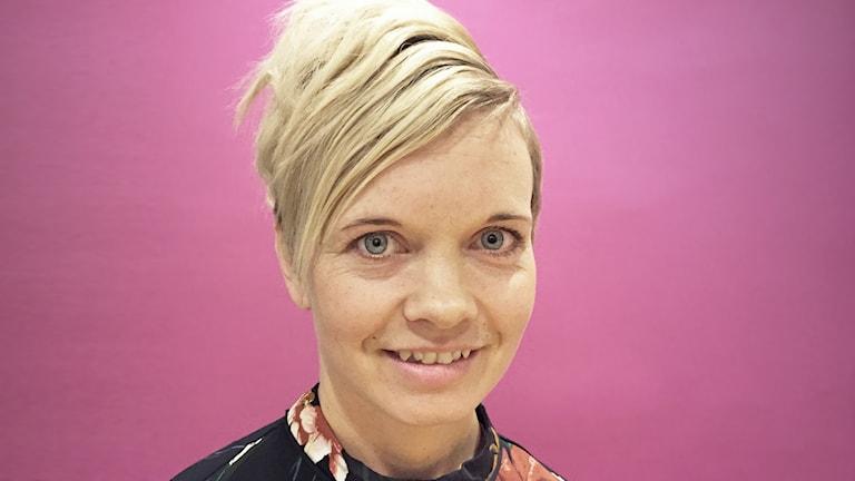 Annelie Berglind. Foto: Robert Ojala/Sveriges Radio.