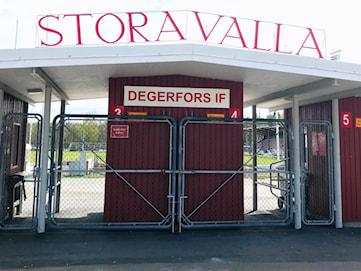Besked: Troligen inget spel på Stora Valla förrän till hösten