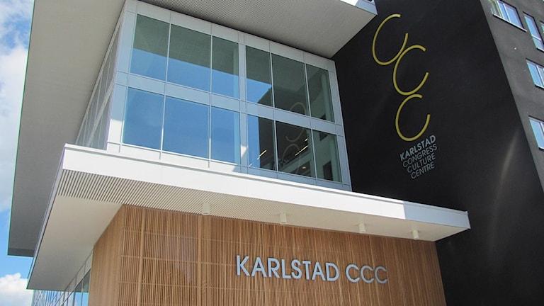 Exteriörbild CCC i Karlstad. Foto: Isak Olsson/P4 Värmland