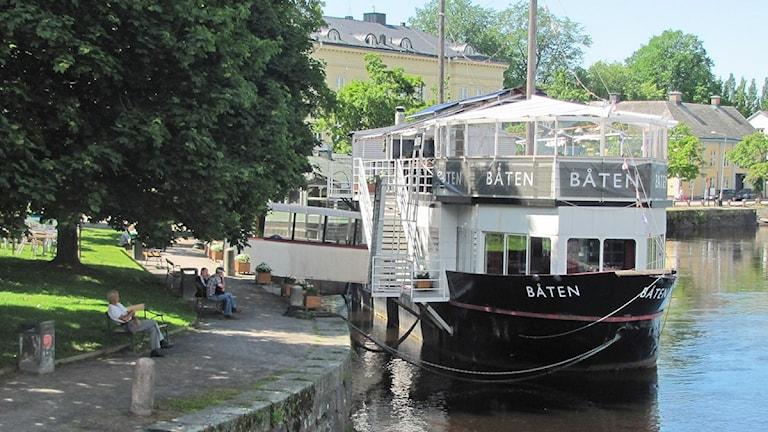 Restaurang Båten. Foto: Isak Olsson/P4 Värmland.
